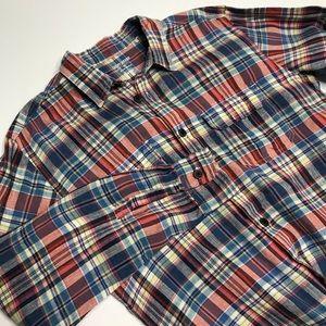 Lucky Brand Irish Linen shirt by Baird McNutt sz M